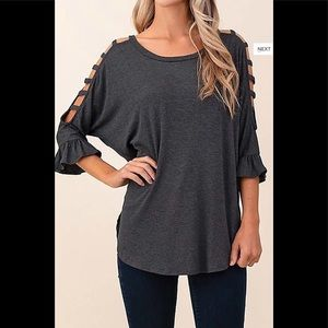 🔥Plus Size Bell Sleeves Knit Tunic🔥